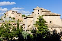 Alquezar, provincia di Huesca Immagine Stock