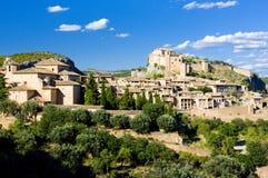 Alquezar, provincia di Huesca Fotografia Stock