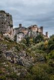 Alquezar village in Guara mountain range. Huesca Royalty Free Stock Images