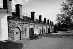 Alquiler de la bicicleta Imagenes de archivo