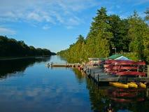 Alquiler de la canoa Imágenes de archivo libres de regalías