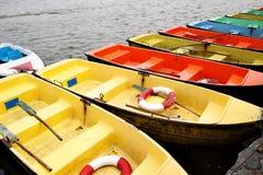 Alquiler de los barcos Fotografía de archivo