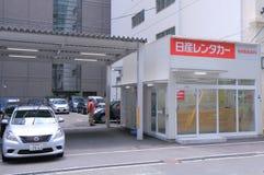 Alquiler Japón de Nissan Car Imagenes de archivo
