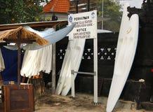 Alquiler plástico del kajak Foto de archivo libre de regalías
