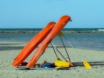 Alquileres de la playa Fotografía de archivo libre de regalías