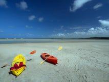 Alquileres de la playa Foto de archivo