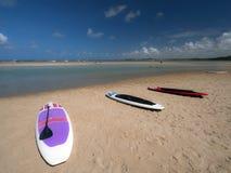 Alquileres de la playa Imagenes de archivo