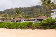 Alquileres hawaianos de la casa Imagen de archivo libre de regalías