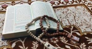 Alquran and tasbih for ramadhan kareem