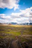 Alrededor de Islandia Imagen de archivo