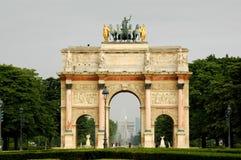 Alrededor de la lumbrera París Imagen de archivo