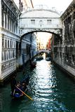 Alrededor de las calles de Venecia Foto de archivo libre de regalías