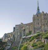 Alrededor de Mont Saint Michel Abbey Imagen de archivo