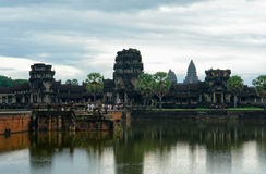 Alrededor de Phnom Sampeou Foto de archivo libre de regalías