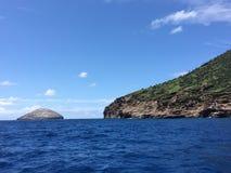 Alrededor de y de la serpiente isla Imágenes de archivo libres de regalías