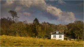 Alrededor del Blanefield - la Escocia Foto de archivo