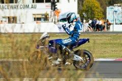 Alrededor del campeonato australiano 3 - 2017 del Superbike de las finanzas del motor de Yamaha Foto de archivo libre de regalías