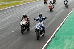 Alrededor del campeonato australiano 3 - 2017 del Superbike de las finanzas del motor de Yamaha Fotos de archivo libres de regalías