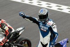 Alrededor del campeonato australiano 3 - 2017 del Superbike de las finanzas del motor de Yamaha Foto de archivo