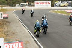 Alrededor del campeonato australiano 3 - 2017 del Superbike de las finanzas del motor de Yamaha Imagen de archivo libre de regalías