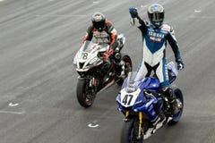 Alrededor del campeonato australiano 3 - 2017 del Superbike de las finanzas del motor de Yamaha Imagen de archivo