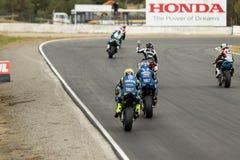 Alrededor del campeonato australiano 3 - 2017 del Superbike de las finanzas del motor de Yamaha Fotografía de archivo libre de regalías