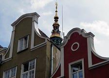 Alrededor del mercado en Gdansk Foto de archivo libre de regalías