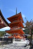 Alrededores del templo de Kiyomizu Imagen de archivo libre de regalías