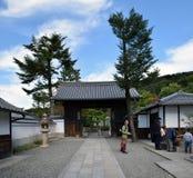 Alrededores del templo de Kiyomizu, Kyoto Imágenes de archivo libres de regalías