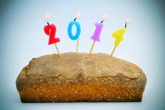 2014, als das neue Jahr Lizenzfreies Stockbild