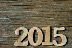 2015, als das neue Jahr Stockbild