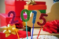 2015, als das neue Jahr Stockbilder