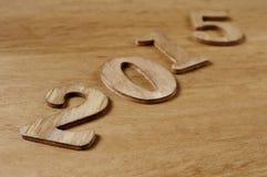 2015, als das neue Jahr Stockfotografie