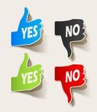 Als in de vorm van stickers Royalty-vrije Stock Foto's