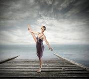 Als een danser Stock Fotografie