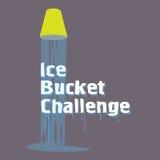 Als-Eis-Eimer-Herausforderung Lizenzfreies Stockbild