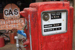 Als Gas preiswert war Stockfotos