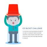 Als ice bucket challenge concept Stock Photos