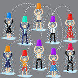 ALS Ice Bucket Challenge Royalty Free Stock Images