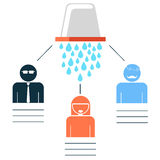 ALS Ice Bucket Challenge Royalty Free Stock Image