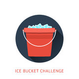 Als ice bucket challenge concept Stock Photo
