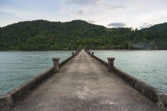 Als Mayom-Pier Stockfotografie