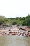 Als Sadet-Wasserfall Lizenzfreies Stockfoto