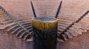 Als Santpere, Barcellona della fonte Immagini Stock Libere da Diritti