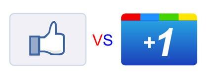 Als versus plus 1 knoop Stock Foto