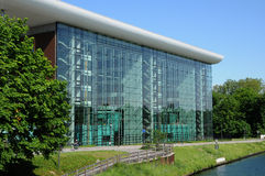 Alsace, Agora of Strasbourg Stock Photography