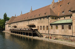 Alsace, the Ancienne Douane in Strasbourg Stock Photos