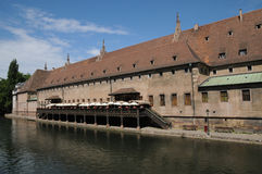 Alsace, the Ancienne Douane in Strasbourg Stock Image