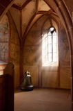 Alsace chapel of Hunawihr Stock Photography