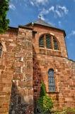 Alsace den Sainte Odile kloster i Ottrott Fotografering för Bildbyråer